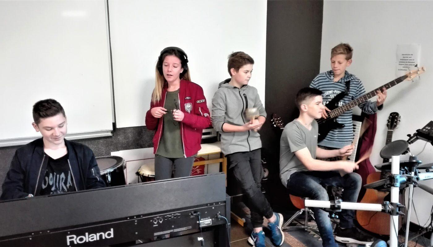 Ste Marie atelier musique